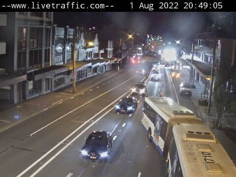 Webcam at Victoria Road at Pittwater Road Gladesville
