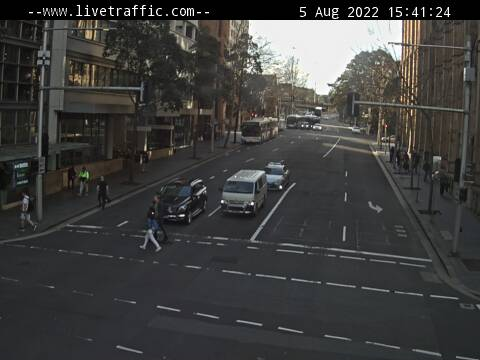 Webcam at York Street at Margaret Street Sydney